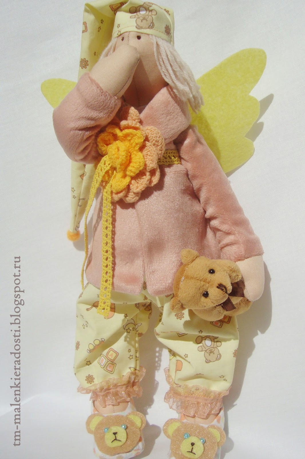 Интерьерная кукла Сонный Ангел