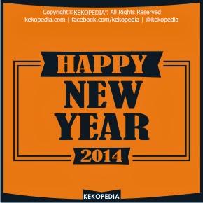 Dp BBM Ucapan Selamat Tahun Baru 2014
