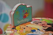 Ayesha 1st Bday Cake