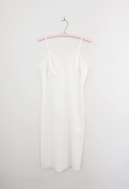 vintage white nightie
