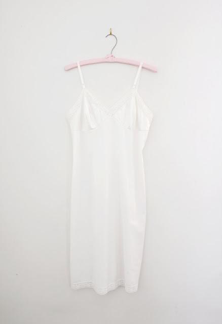 vintage white nightie