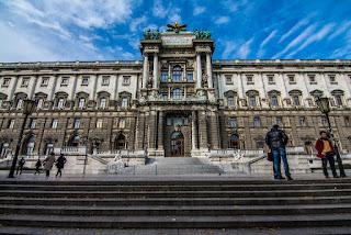 exterior Austrian National Library, Vienna