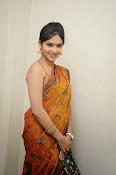 Madhumitha sizzling pics in saree-thumbnail-9