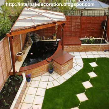 Rectangular Garden Ideas All furniture in one place garden planning styles when there a part of the garden is lower level than other parts in flat land and rectangular small spaces such as roofs gardens workwithnaturefo
