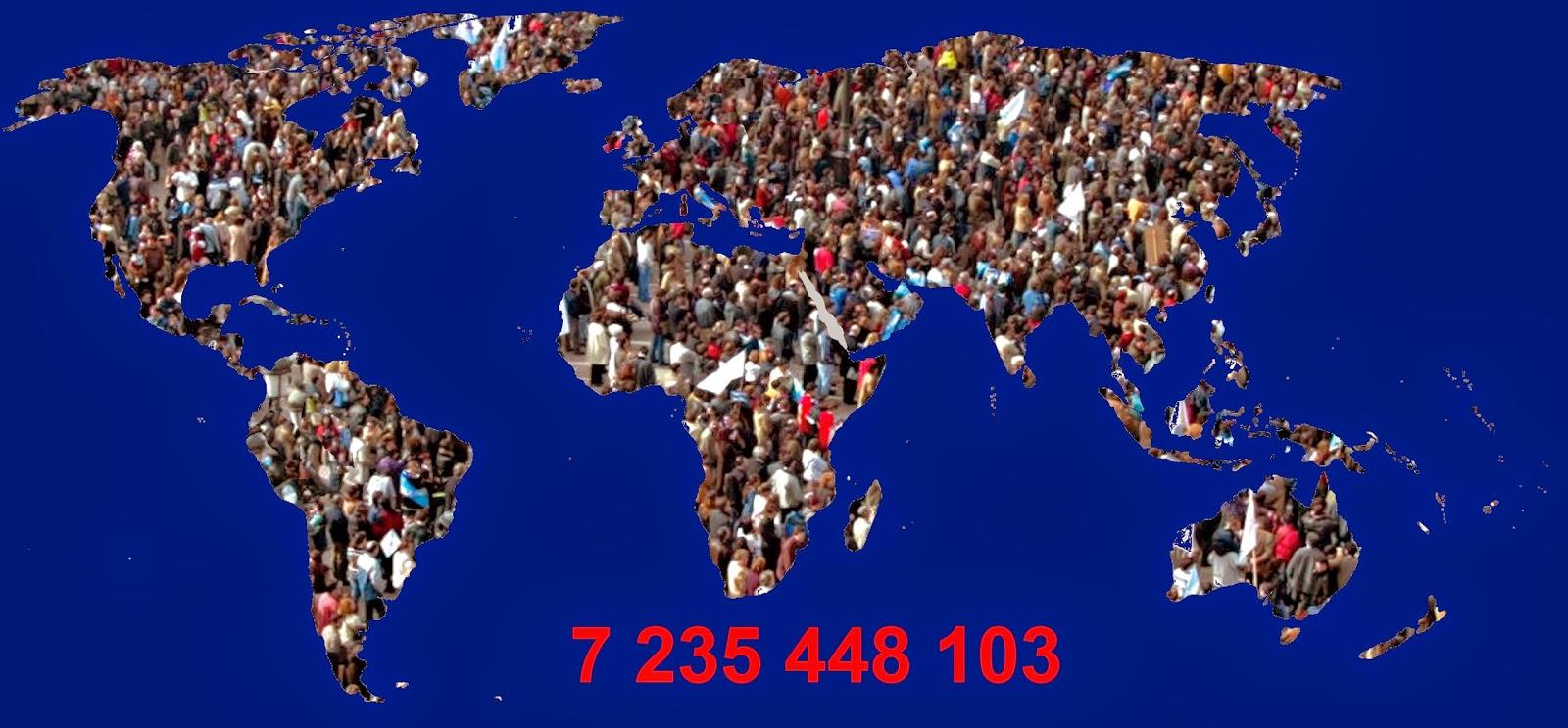 Població mundial