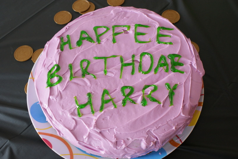 Can Do Cakes Harry Potter Cake