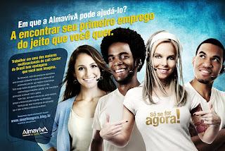 AlmavivA do Brasil abre vagas.