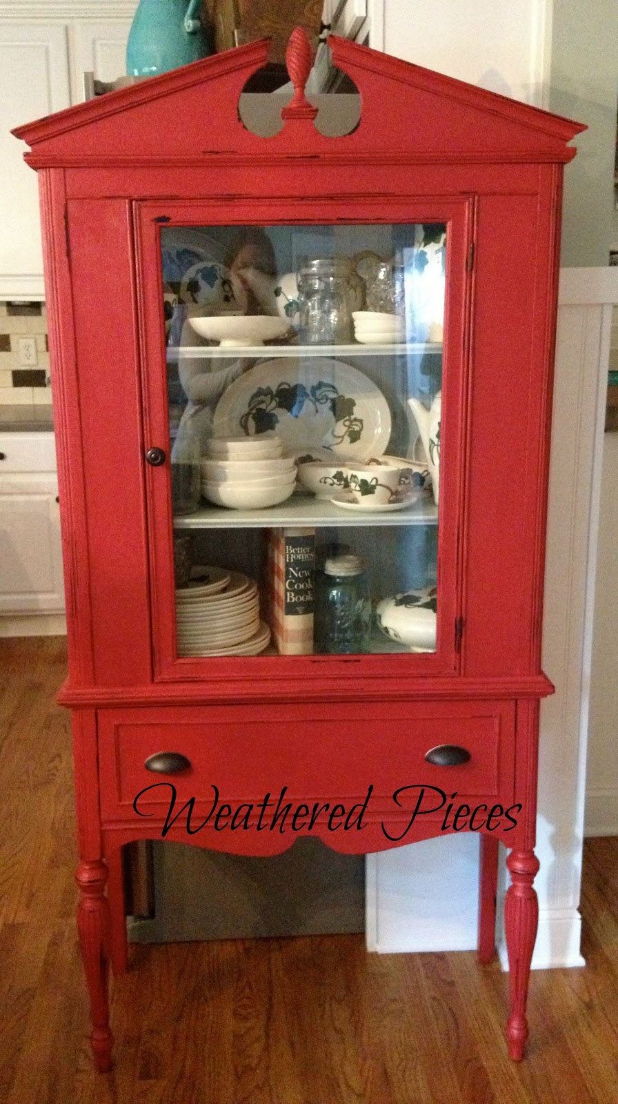 China Cabinet Makeover American Paint Company