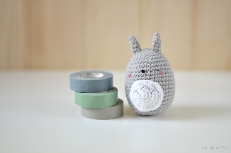 Free Amigurumi Wedding Couple Pattern : I love Kawaii: Free Sleeping Totoro Amigurumi Pattern