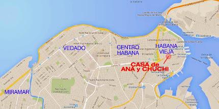 La Habana Mapa