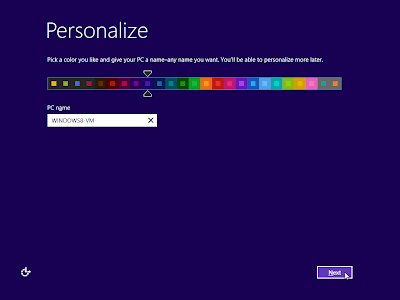 windows 8 personalize