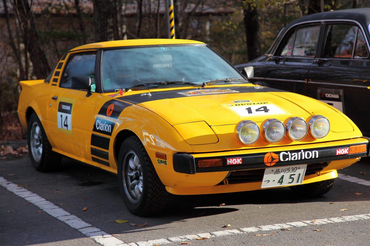 Mazda RX-7, SA22C, Savanna, Wankel, rotary, 12B, 13B, turbo, wyścigi, rajdy, rally, klasyczny samochód, sportowy, dawna motoryzacja, nostalgic, model