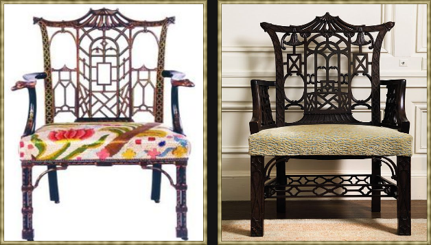 eye for design: decorating in chinese chippendale style