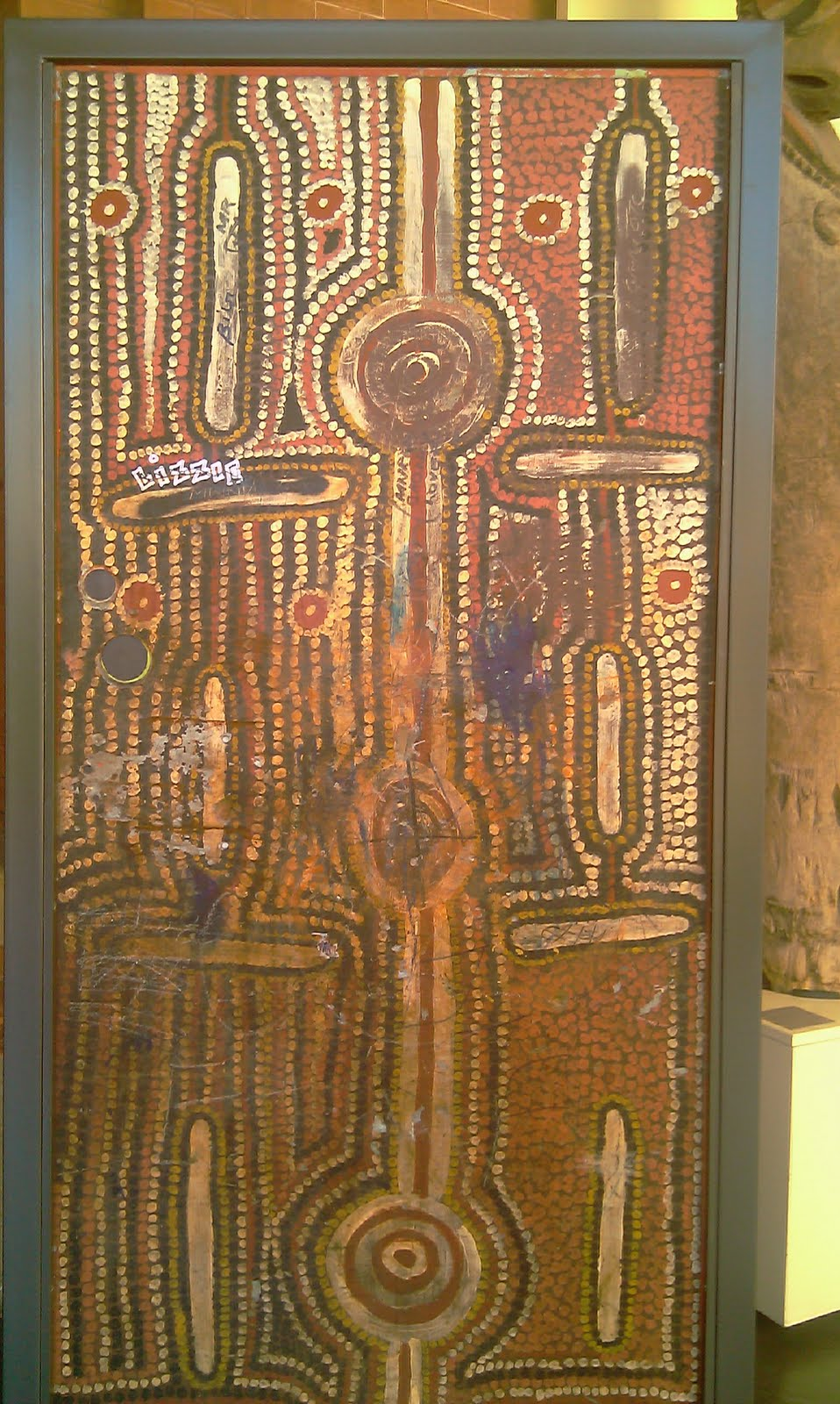 Yuendumu Doors - Great Historical Aboriginal Art & The Monsoon Frog: Yuendumu Doors - Great Historical Aboriginal Art