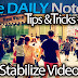 Galaxy Note 2 Tips Tricks Episode 84: Stabilize Video After Capture