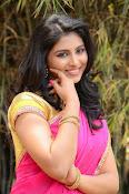 kruthika jayakumar half saree stills-thumbnail-4