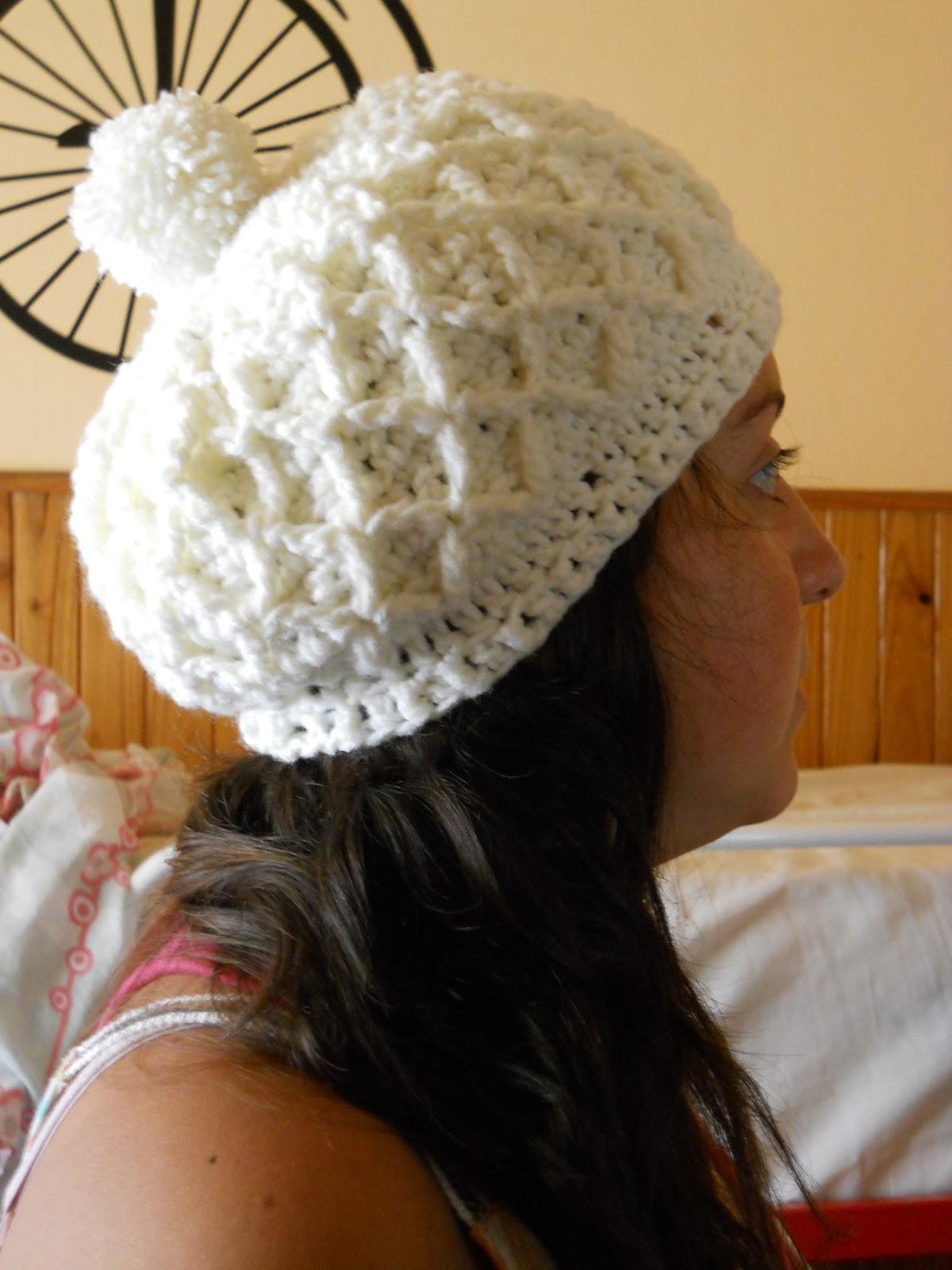 tejidos c rculos  trabajos artesanales gorro invierno tejido al