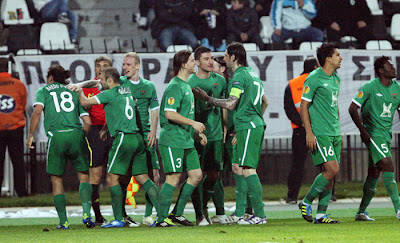 PAOK 1 - 1 Rubin Kazan (2)