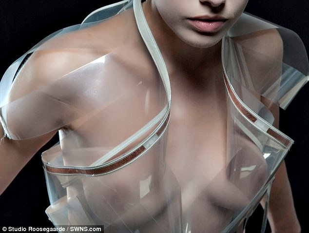 Dress Turns Transparent When It Detects You're Turned On