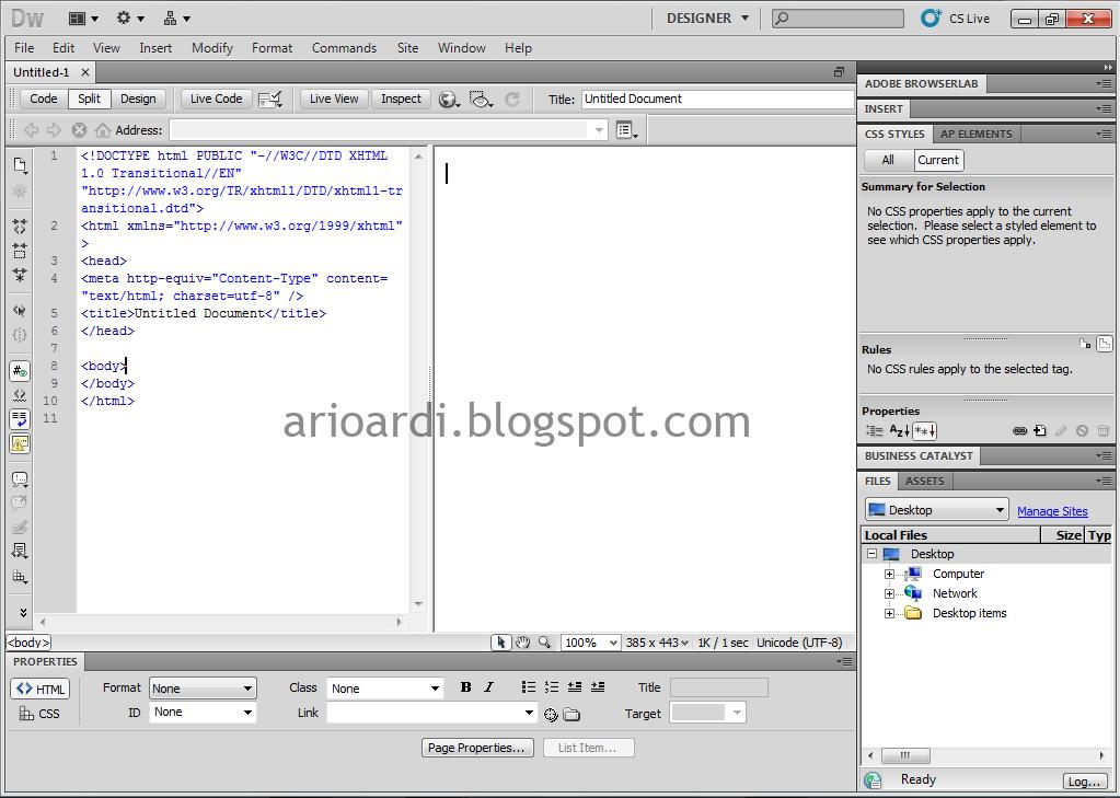 Macam-Macam Text Editor Untuk Pemrograman Web | Info Seputar Komputer