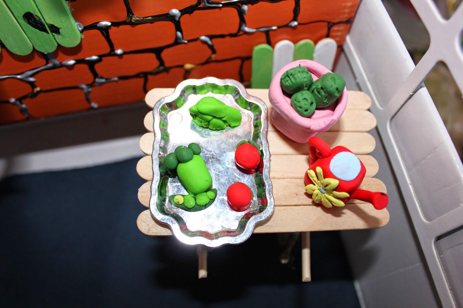 овощи из пластики