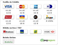Formas de pagamento - Pag Seguro