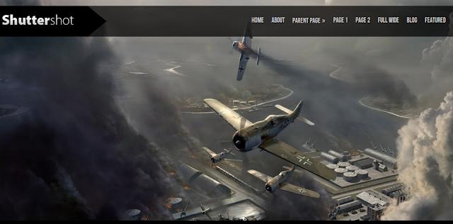 Shuttershot Full Screen Slideshow Theme