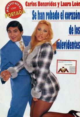 Huicho Domínguez y Laura León
