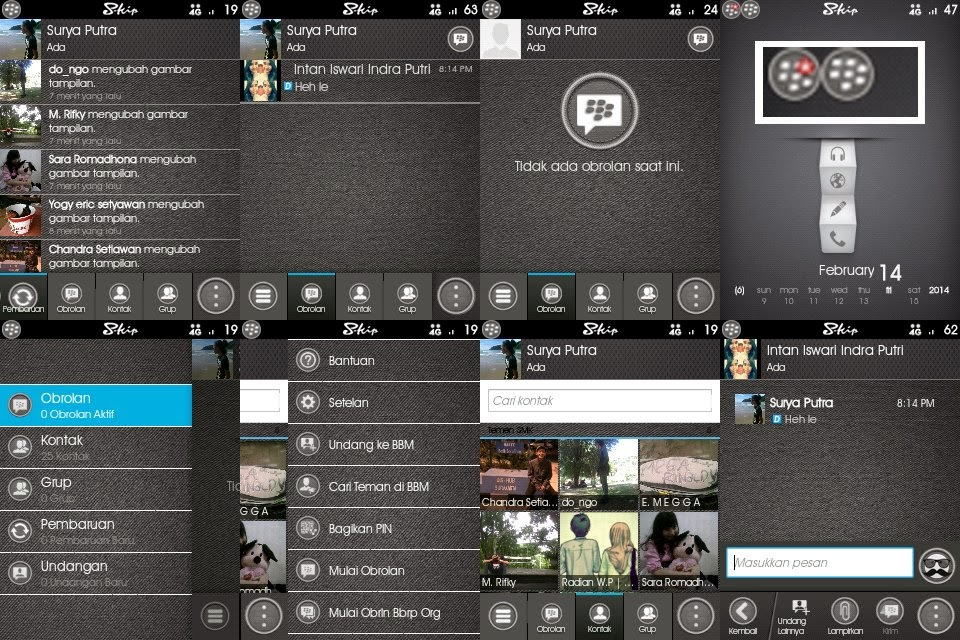 SS BBM MOD For GingerBread By Skip