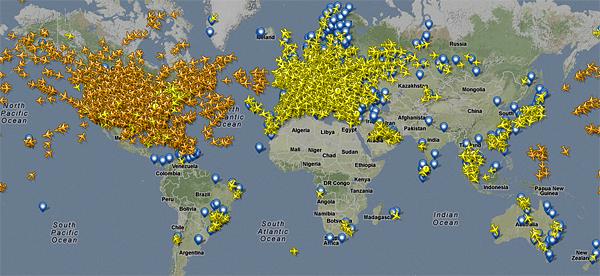 Controla los vuelos con Flightradar 24