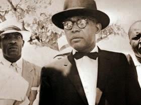 """François """"Papa Doc"""" Duvalier era conocido por vestirse como el Barón Samedi"""