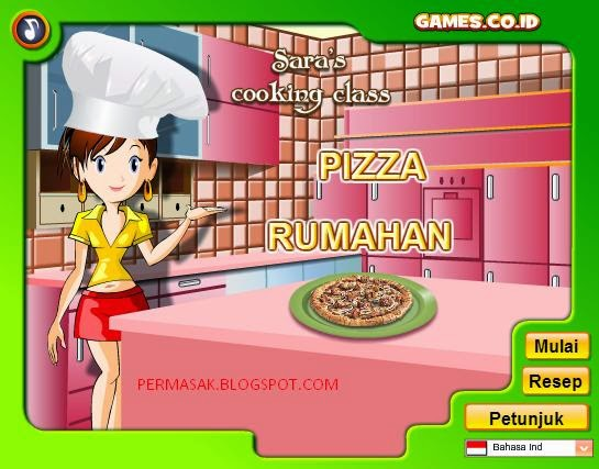 Permainan Memasak Pizza Rumahan