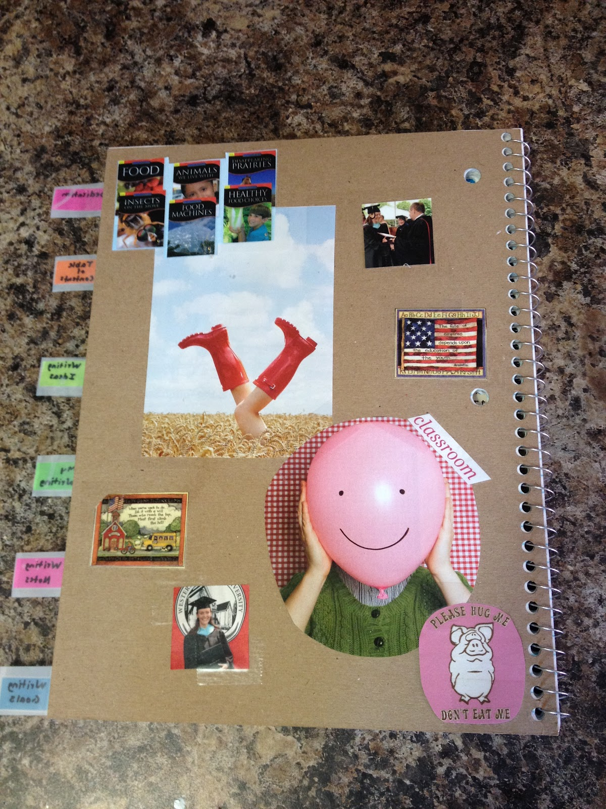 Classroom Notebook Ideas ~ Apples of your eye writer s notebook organization