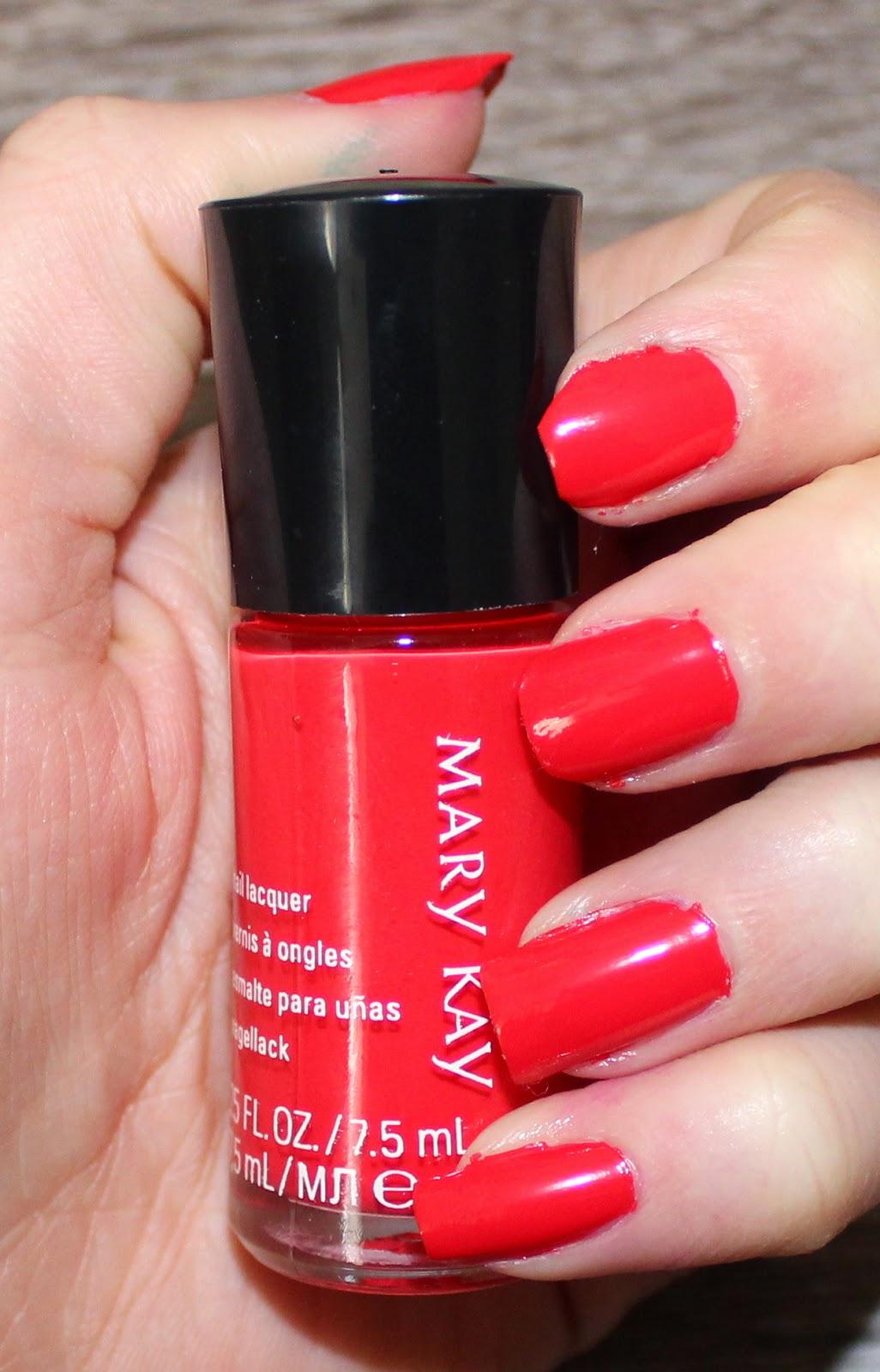 Mary Kay Paradise Calling Nail Lacquer in Tropical Mandarin