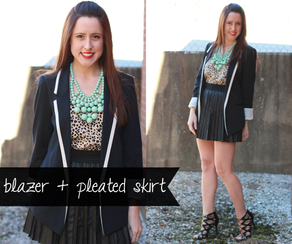 Here & Now: 1 Blazer, 4 Ways - Girls' Night | #WearWallisFashion
