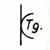 Signo convencional de Central Telegráfica