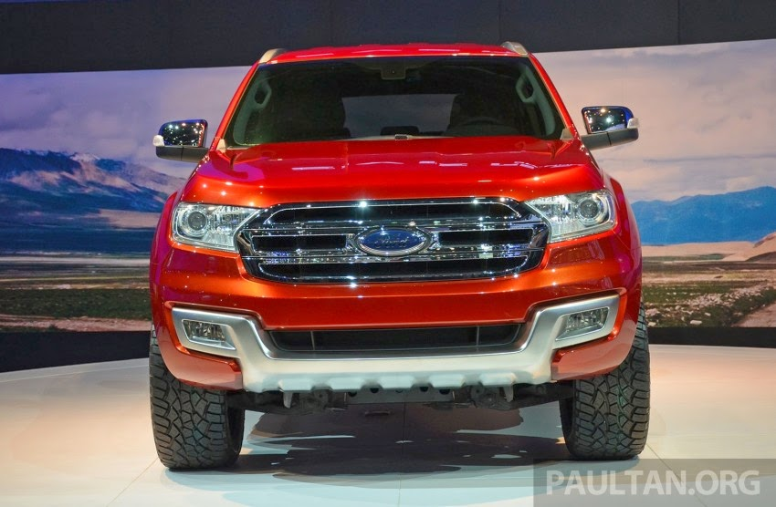 Ford Paves Future for Mid-Size SUVs with Everest Concept