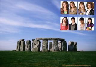 Fundo de tela dos Morangos com Açucar Jovens atores em wallpaper Monumento Stonehenge
