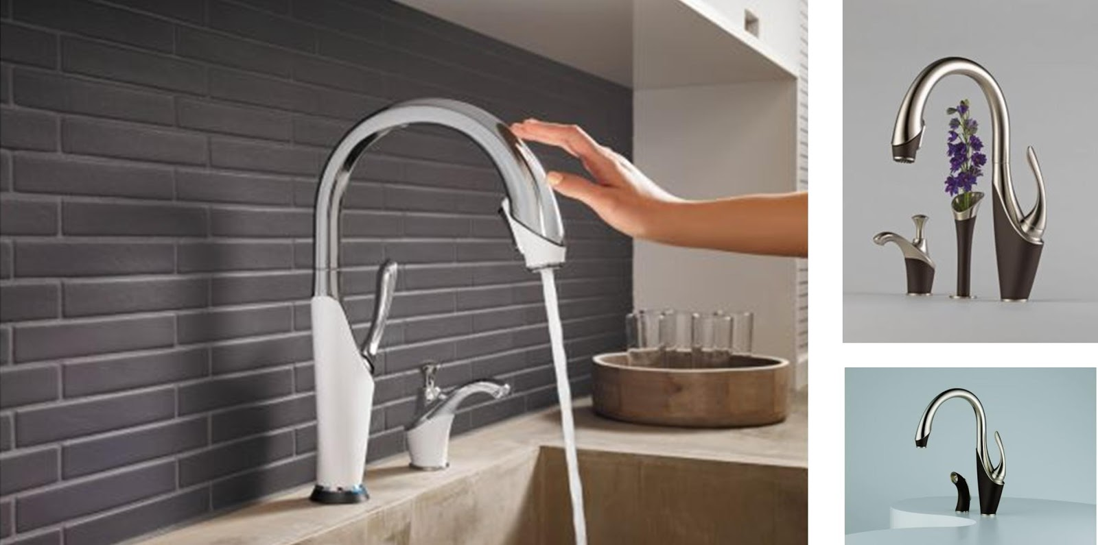 Touch Technology Kitchen Faucet Time2design Custom Cabinetry And Interior Design Kitchen And Bath