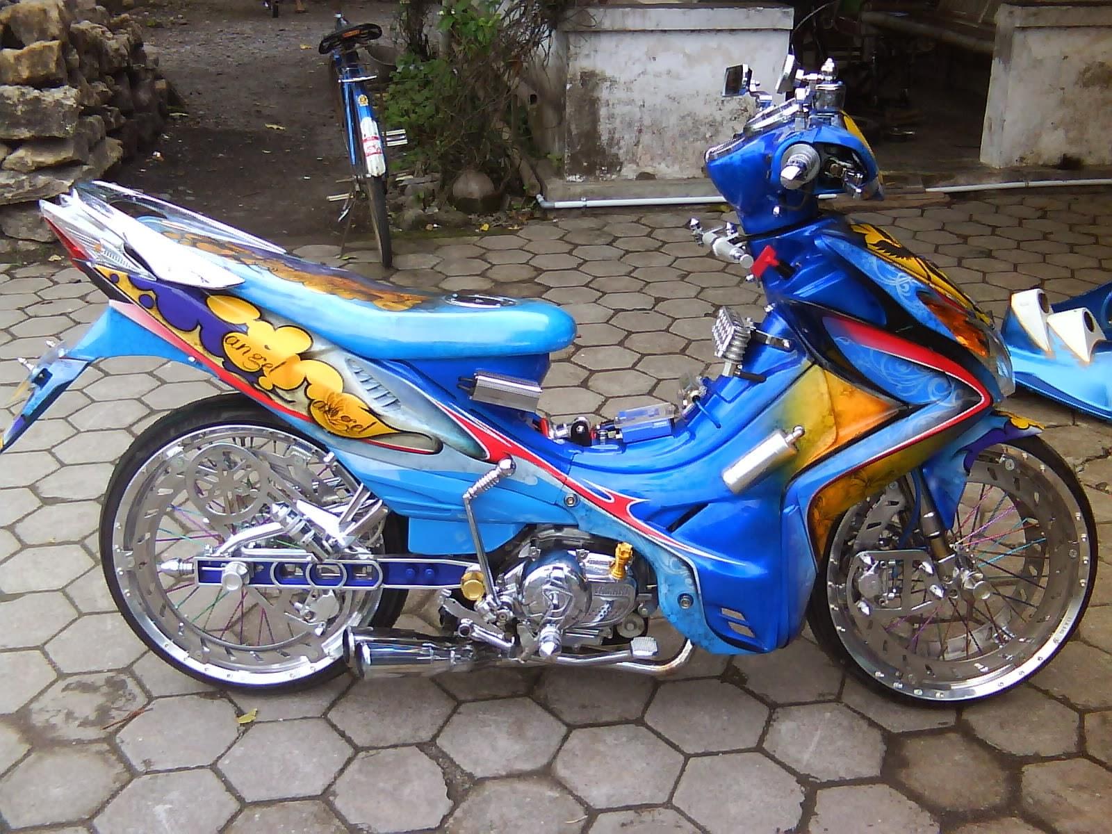 Modifikasi+Motor+Yamaha+Jupiter+Z+04 Perbedaan SUKA, SAYANG dan CINTA by Soalremaja.Com