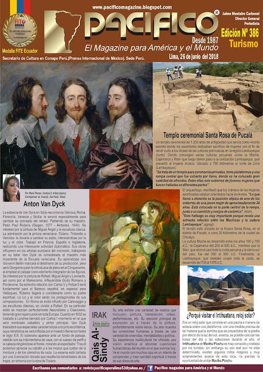 Revista Pacifico Nº 386 Turismo
