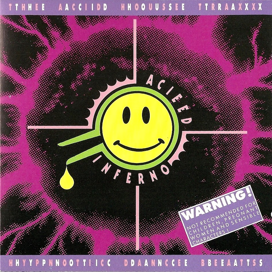 Side stepping the mainstream v a acieed inferno import for Acid house cd