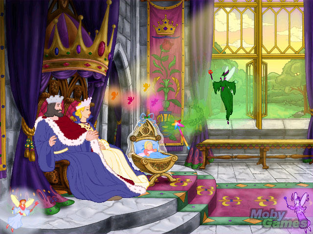 Maleficent enters the castle in Sleeping Beauty 1959 movieloversreviews.blogspot.com