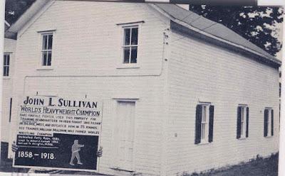 Lugar de entrenamiento de John L Sullivan