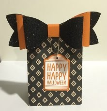 Stamp Camp Halloween Treat Bag