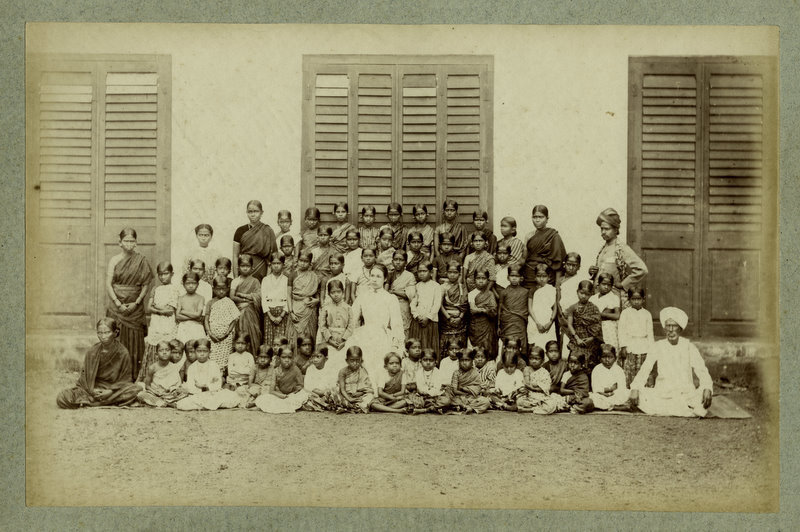 Group of Indian School Children - 1880's