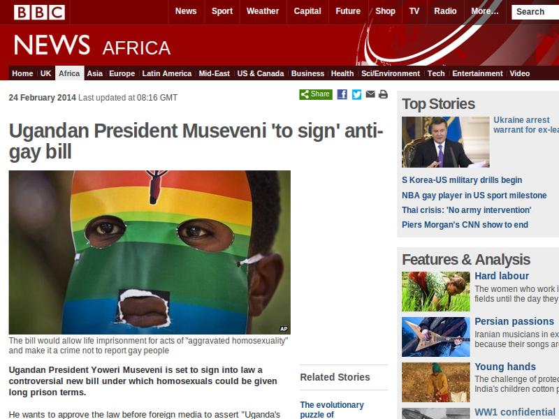 The Ugandan bill