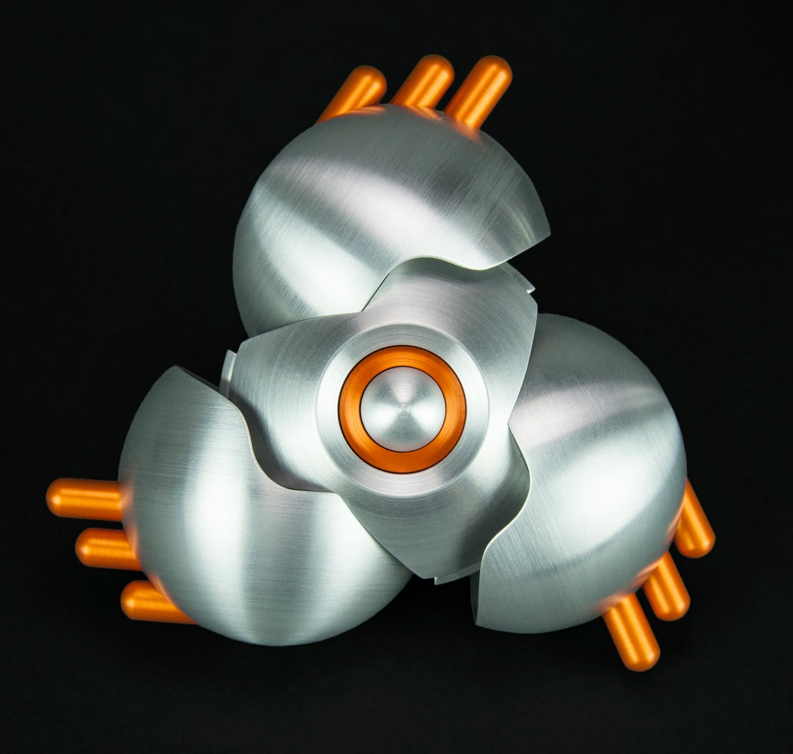 machine art, machined metal sculpture, Abstract metal art