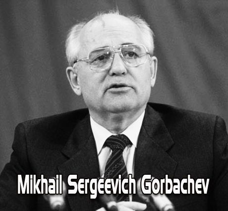 Kegigihan anak seorang petani Mikhail S. Gorbachev