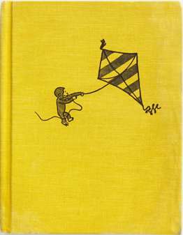 Vintage Curious George Flies A Kite on Scout's Honor Co.